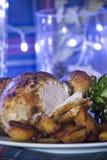 Жареный цыпленок Стоковая Фотография