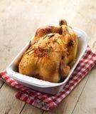 Жареный цыпленок стоковые изображения rf