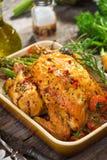 Жареный цыпленок Стоковые Фото