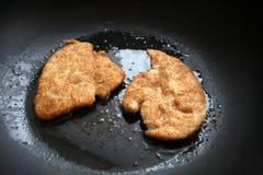 жарить выкружки цыпленка Стоковые Изображения RF