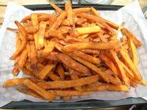 жарит помадку картошки Стоковые Изображения RF