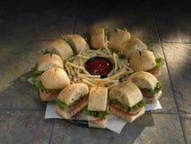 жарит сандвич диска Стоковые Фотографии RF