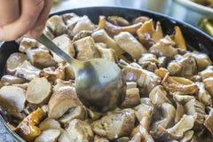 Жаркое грибов Стоковое Изображение