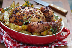 жаркое картошек цыпленка Стоковое фото RF