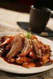 жаркое свинины арахисов пряное Стоковые Изображения