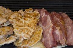 Жаркое свинины на гриле Стоковое Фото