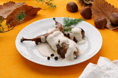 жаркое триперсток каштанов cream Стоковая Фотография RF