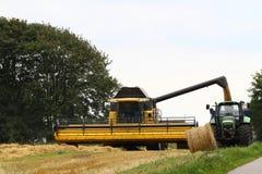 жатка зернокомбайна Стоковая Фотография
