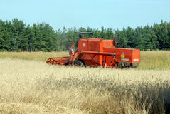 жатка зернокомбайна Стоковое фото RF