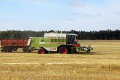 Жатка зернокомбайна Стоковая Фотография RF