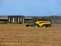 жатка зернокомбайна Стоковое Изображение