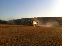 Жатка зернокомбайна John Deere Стоковое Изображение RF