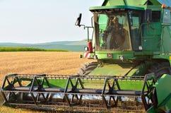 Жатка зернокомбайна John Deere Стоковые Фото