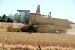 жатка поля пшеницу Стоковое фото RF