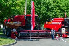 Жатки зернокомбайна Стоковая Фотография