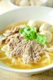 Жалуйтесь суп лапши, азиатский стиль в Таиланде Стоковое Изображение RF