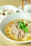 Жалуйтесь суп лапши, азиатский стиль в Таиланде Стоковое Фото