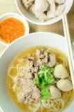 Жалуйтесь суп лапши, азиатский стиль в Таиланде Стоковые Изображения RF