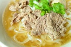 Жалуйтесь суп лапши, азиатский стиль в Таиланде Стоковое Изображение