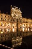Жалюзи Musee в Париже к ноча Стоковая Фотография