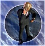 ждать бизнесмена Стоковая Фотография RF