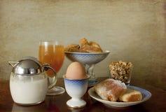 ждать кофе завтрака континентальный Стоковое Изображение