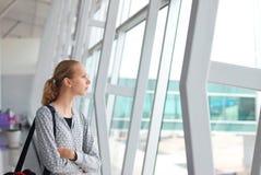 ждать полета стоковые фото