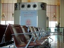 Ждать салон на международном аэропорте Chhatrapati Shivaji, Мумбае Стоковая Фотография RF
