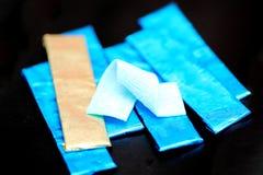 Жевательная резина и оборачивая фольга стоковое изображение