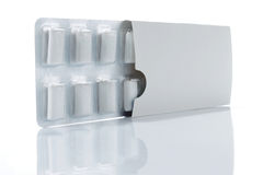 жевательная резина коробки Стоковое фото RF