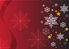 Желания рождества, звезды, смычок предпосылки со звездами иллюстрация штока