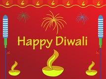 желания diwali иллюстрация вектора