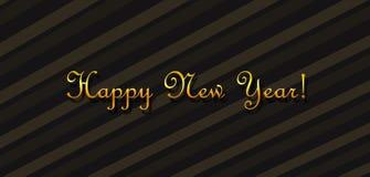 Желать счастливый Новый Год Стоковые Фото