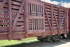 железная дорога автомобиля Стоковое Фото
