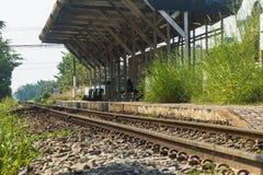 Железная дорога в Таиланде, Азии Стоковые Фотографии RF