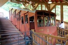 Железная дорога горы Гейдельберга стоковые изображения rf