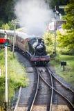 Железная дорога долины Severn, Вустершир Стоковое Фото