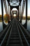 железная дорога моста Стоковые Изображения