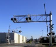 железная дорога скрещивания Стоковое Изображение RF
