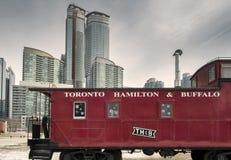 Железная дорога Торонто, Гамильтона и буйвола стоковая фотография
