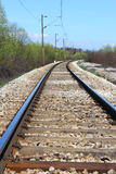 железная дорога Стоковое Изображение RF