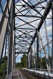 железная дорога bribge Стоковое Фото