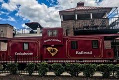 Железная дорога Cockaboose, стадион Williams Brice, Колумбия, Южная Каролина Стоковое Изображение