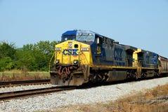 железная дорога csx стоковые изображения