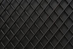 Железная решетка покрашенная с черной краской предпосылка текстурная Стоковое фото RF