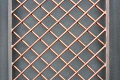 Железная решетка предпосылка текстурная Стоковые Изображения