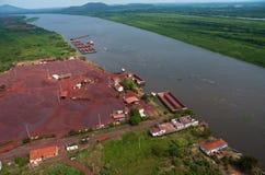 Железная руда стоковая фотография rf