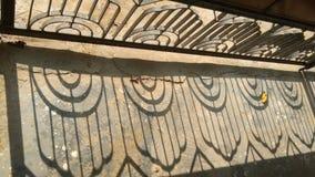 Железная тень двери Стоковые Изображения RF