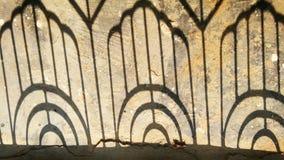 Железная тень двери Стоковое Изображение RF