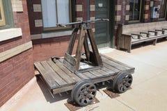 Железнодорожное handcar Стоковое Изображение